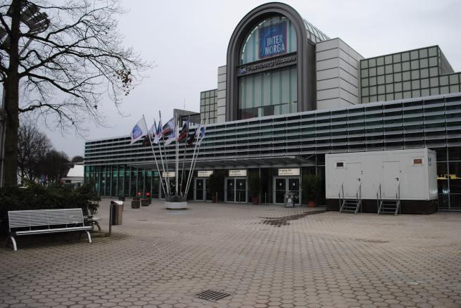 Hamburg Messe, Eingang Ost